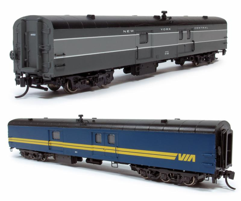 N scale Baggage Cars