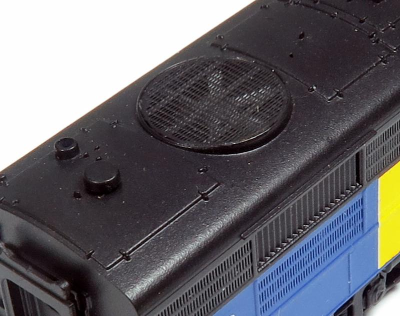 N Scale See-Through Grille