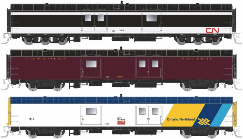 N Scale Baggage Car