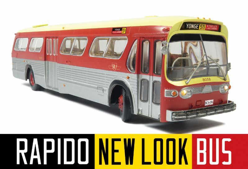 Rapido Fishbowl Bus