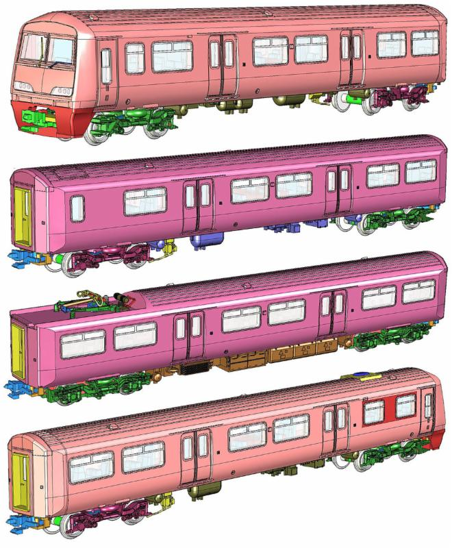 Rapido Class 321