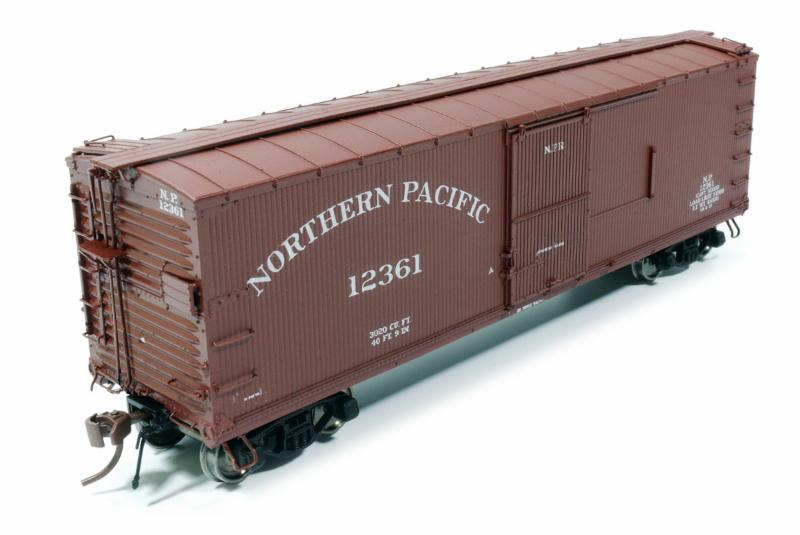 Northern Pacific Boxcar