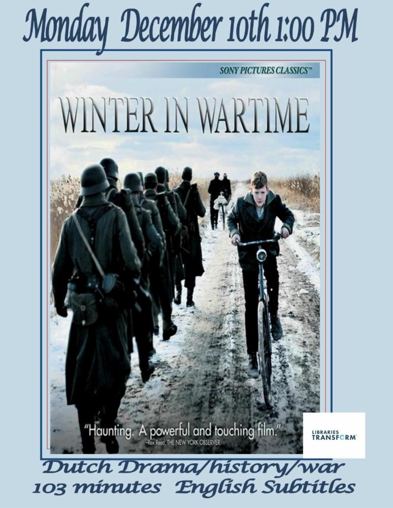 winter in wartime full movie english