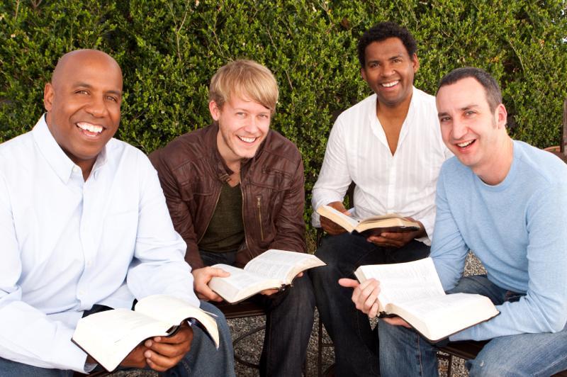 men meeting