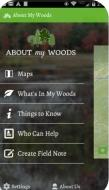 About My Woods Mobile App