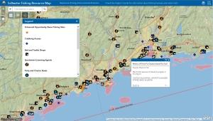 Saltwater Fishing Resource Map