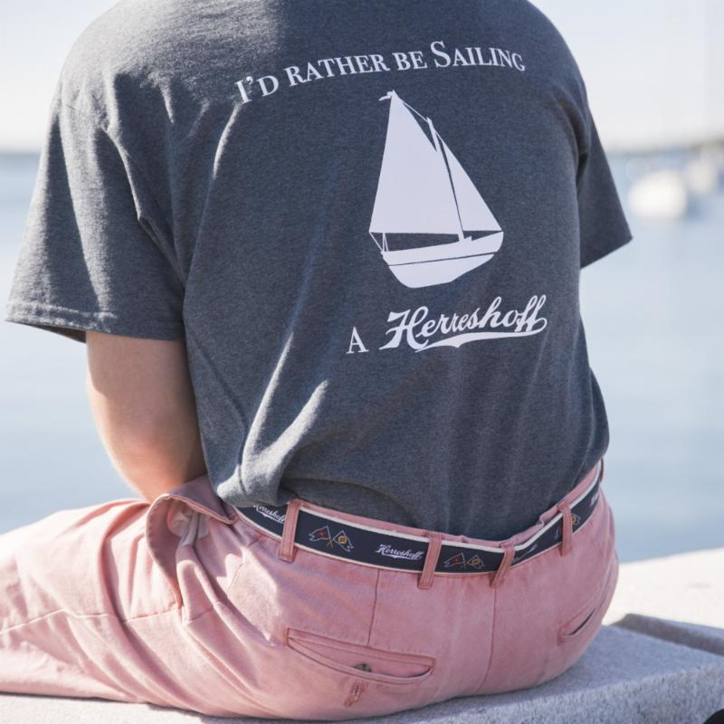 Rather Be Sailing a Herreshoff Tee