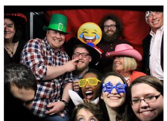 Frostbite Bash 2017 Staff Photo