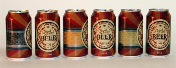 Multiple Versions of Craft Beer Shrink Sleeves