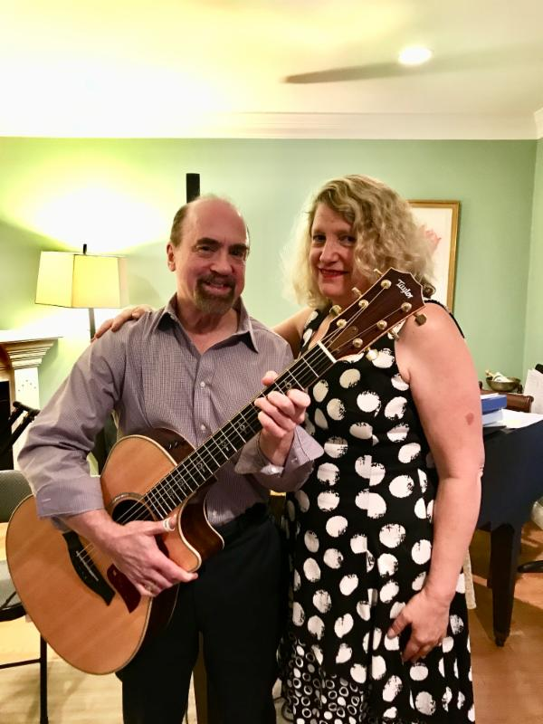 October Music Salon with Terry