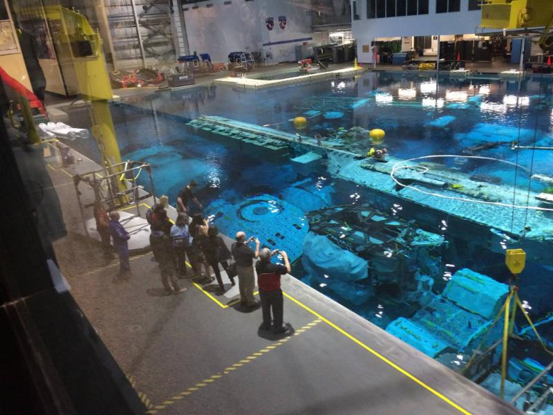 NASA Neutral Buoyancy Laboratory