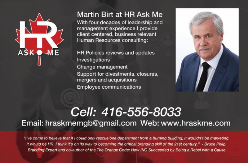 Martin Birt of HRASKME.COM
