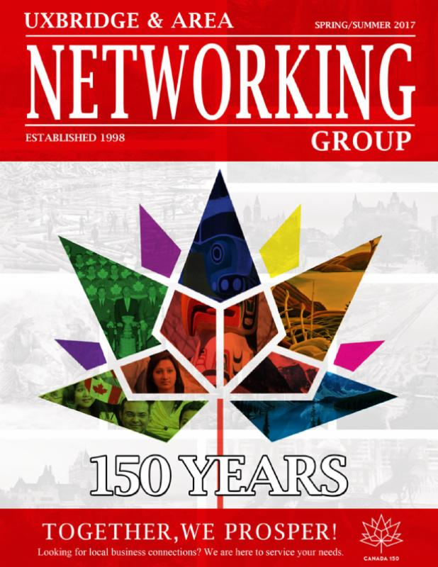 Canada 150 Uxbridge Networking Magazine Cover