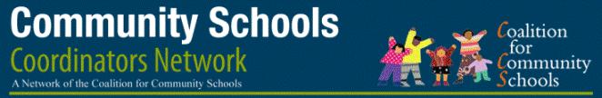 Logo_ Community Schools Coordinators Network_ A Network of the Coalition for Community Schools