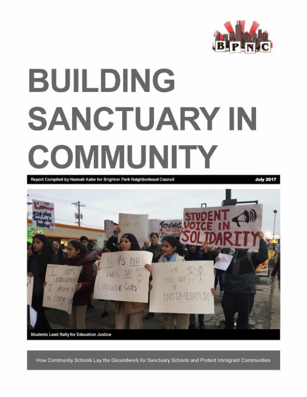 Building Sanctuary in Community document pic