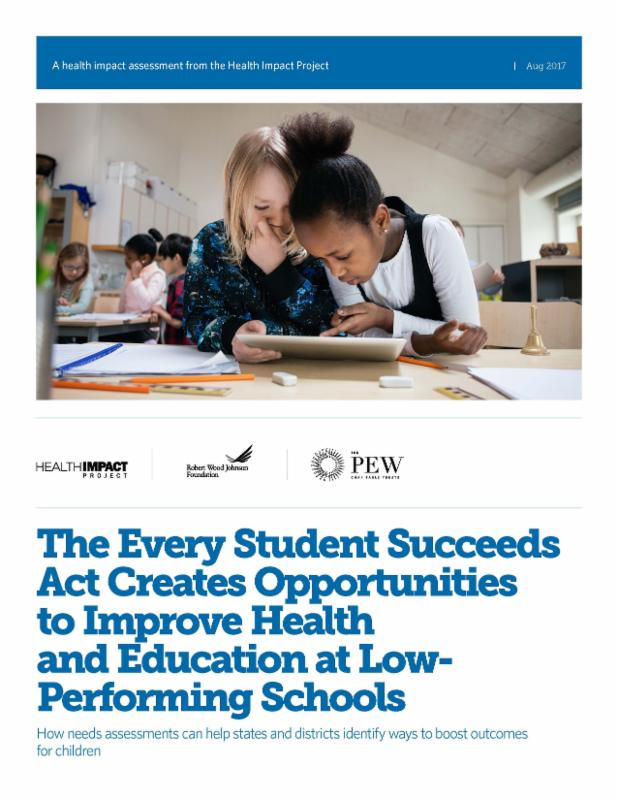 New Guide on How the Every Student Succeeds Act Creates Opportunities to Improve Health and Education at Low Performing Schools Doc Pic