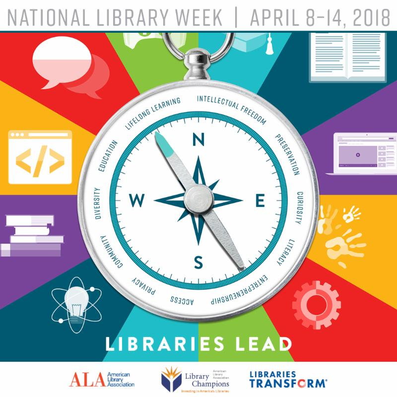 National Library Week 4/8-14