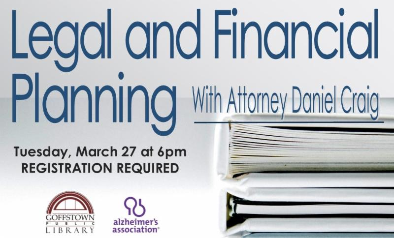 Legal and Financial Planning with Elder law attorney Daniel Craig