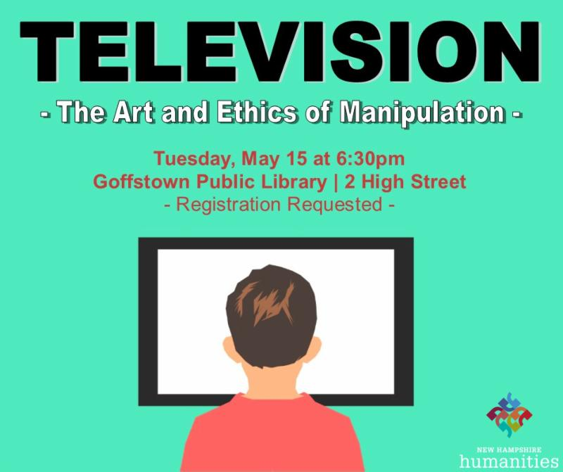 Television - The Art & Ethics of Manipulation presentation at the Library