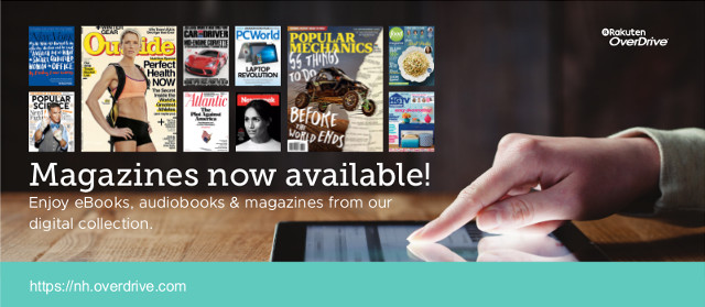 More Magazines for You with the Overdrive and Libby apps