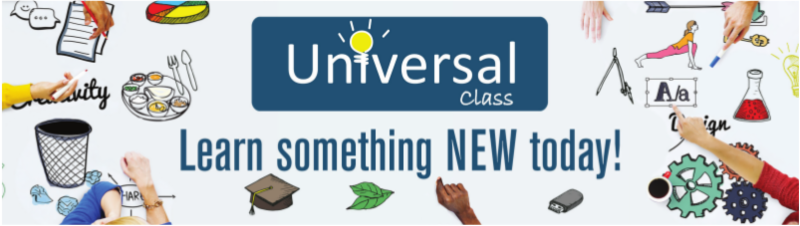 Continuing education courses are available free with Universal Class and your Goffstown Public Library card.