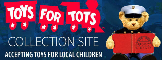 Toys For Tots Foundation Address : News from the goffstown public library