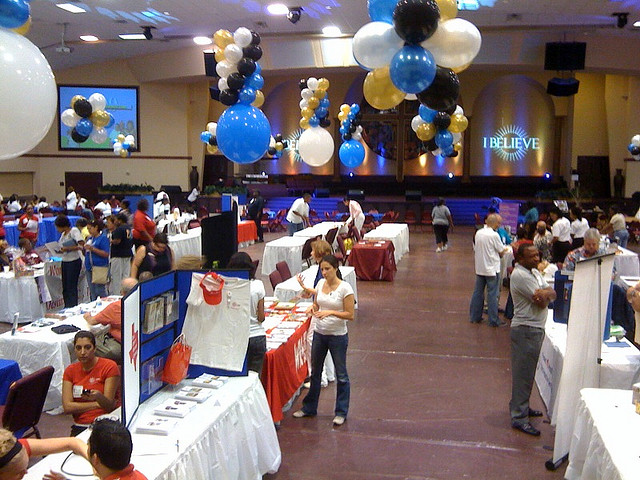 Health Fair at Megachurch