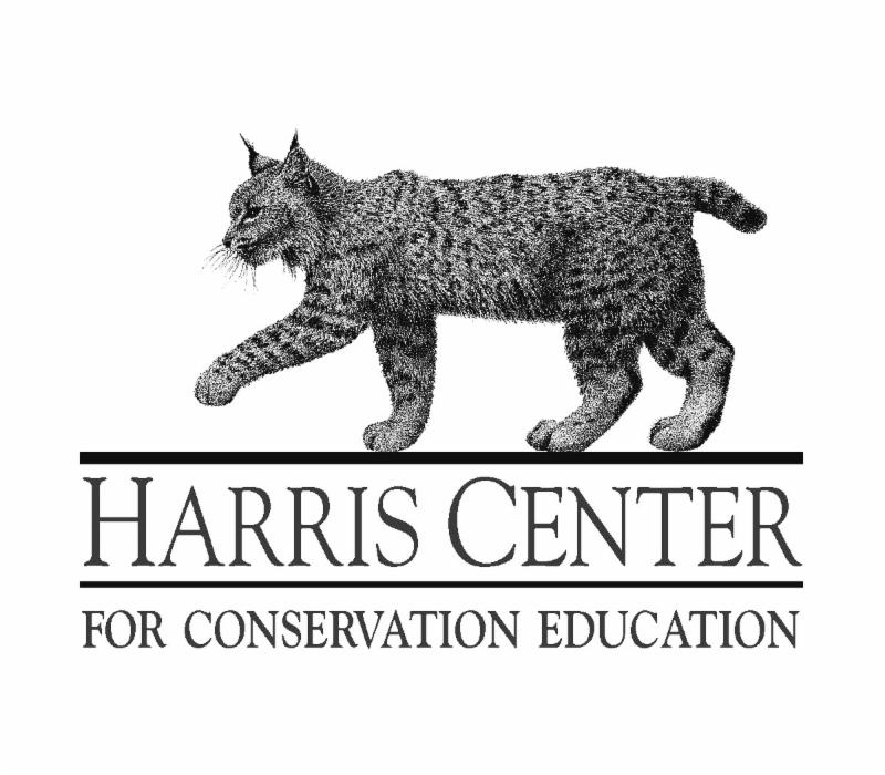 Harris Center Logo with Bobcat