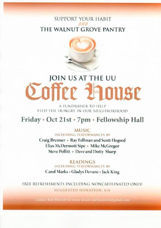 coffeehouse oct 21