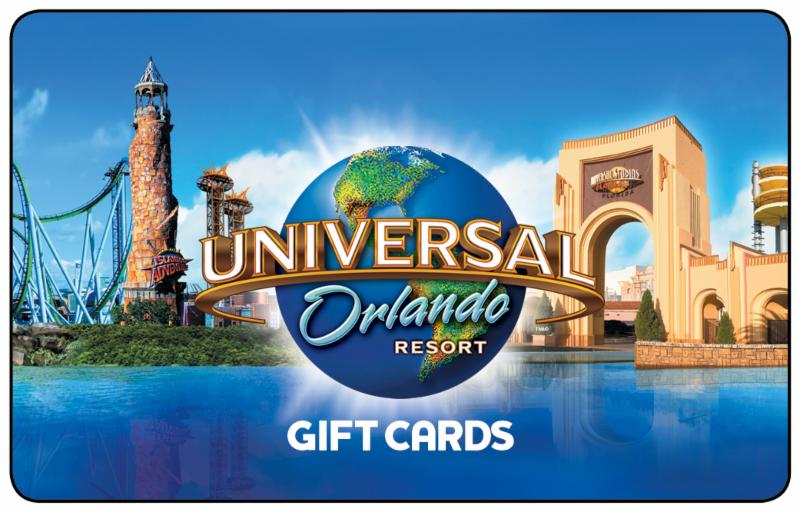 Universal Orlando Gift Cards have arrived!