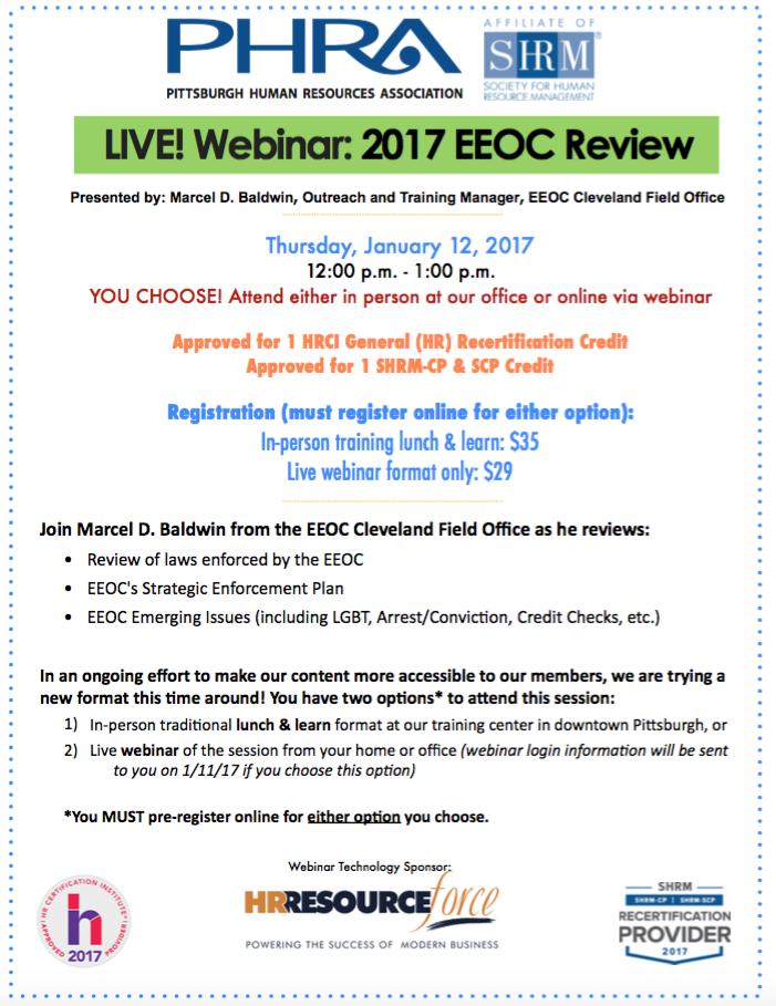 2017 EEOC Review