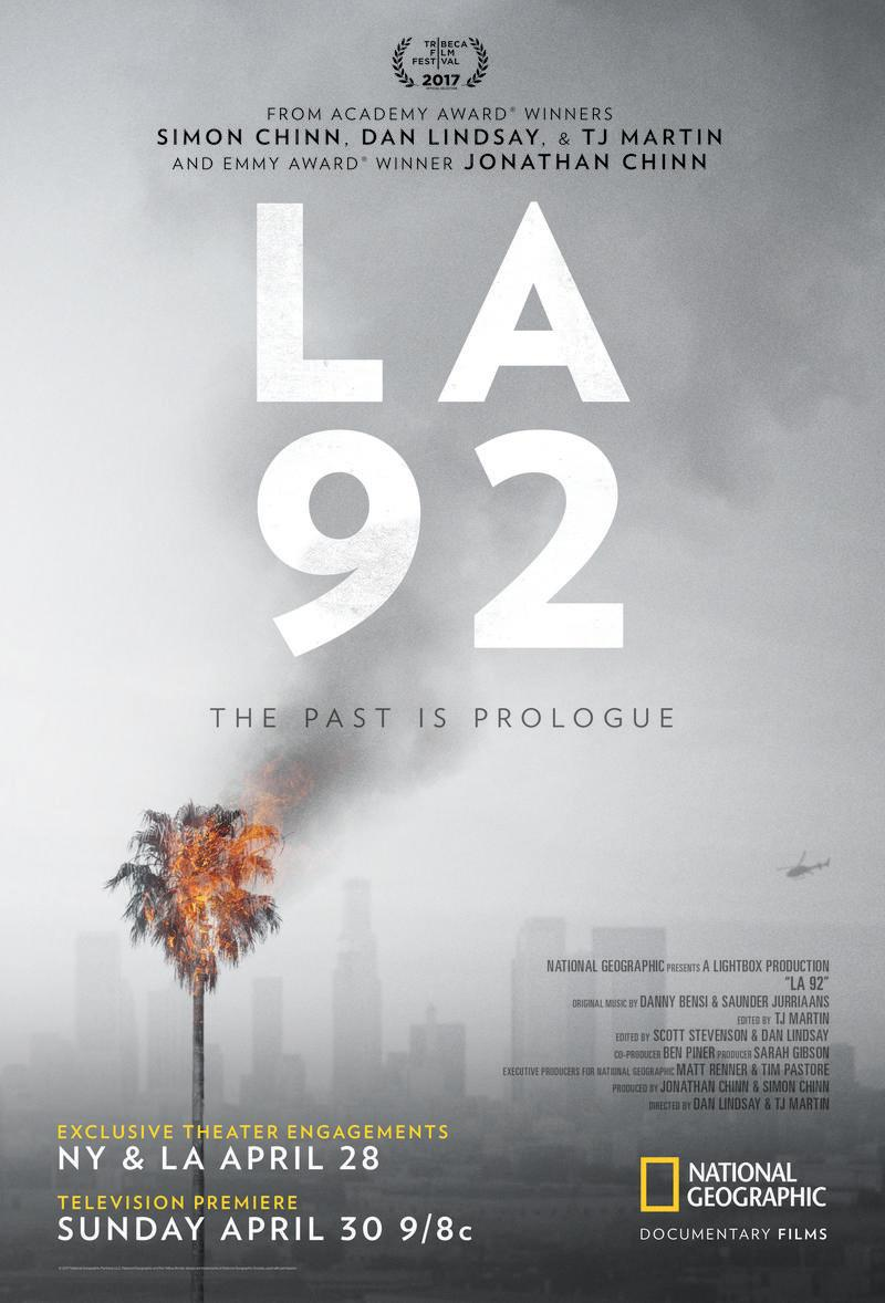 National Geographic Marks 25th Anniversary of LA Riots with