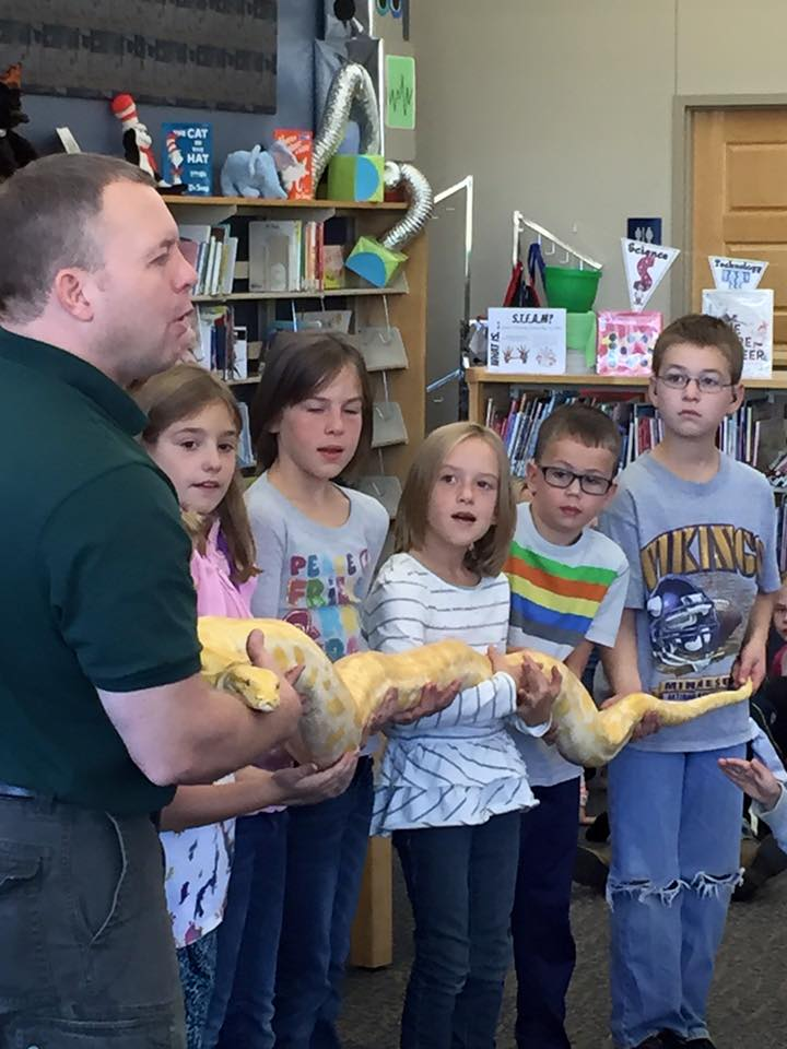 The RAD Zoo Visits the Library