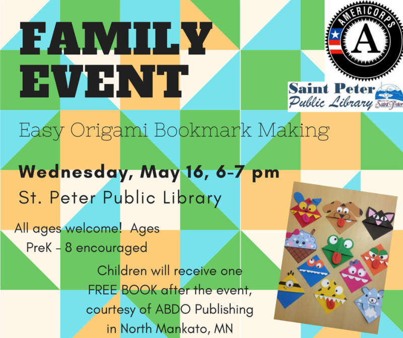 Bookmark Making Family Event