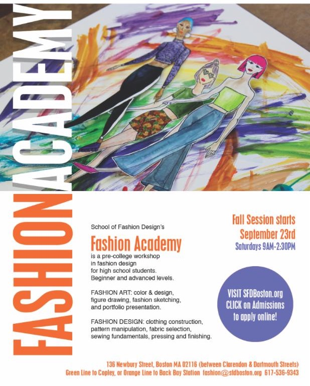Behind The Seams News From School Of Fashion Design Sept 2017