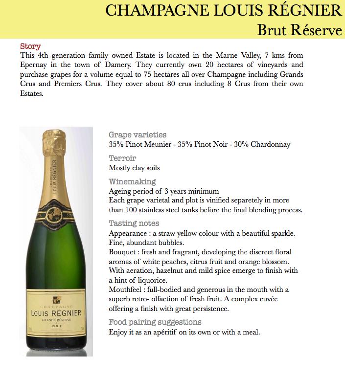 bubbly blowout a special grande réserve champagne for 22 99