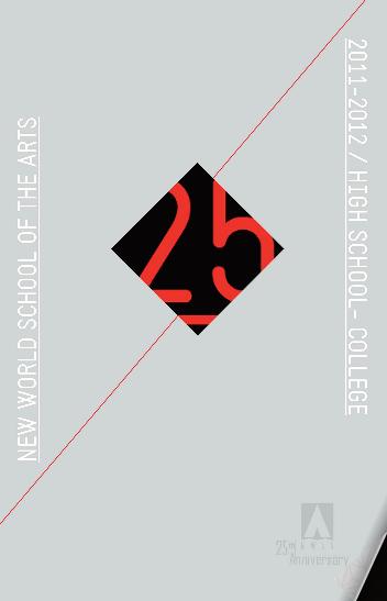 Cover of NWSA 25 Anniversary Magazine 2011-2012