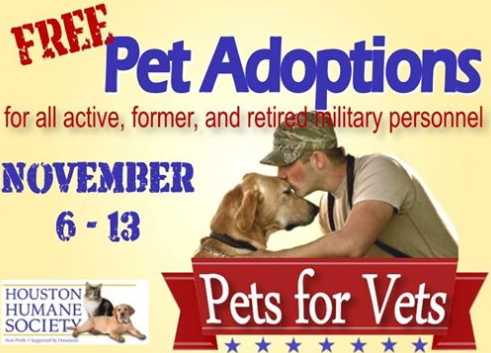 Pets for Vets!