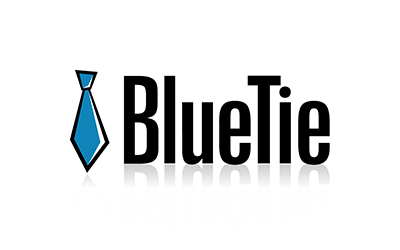 Blue Tie Logo