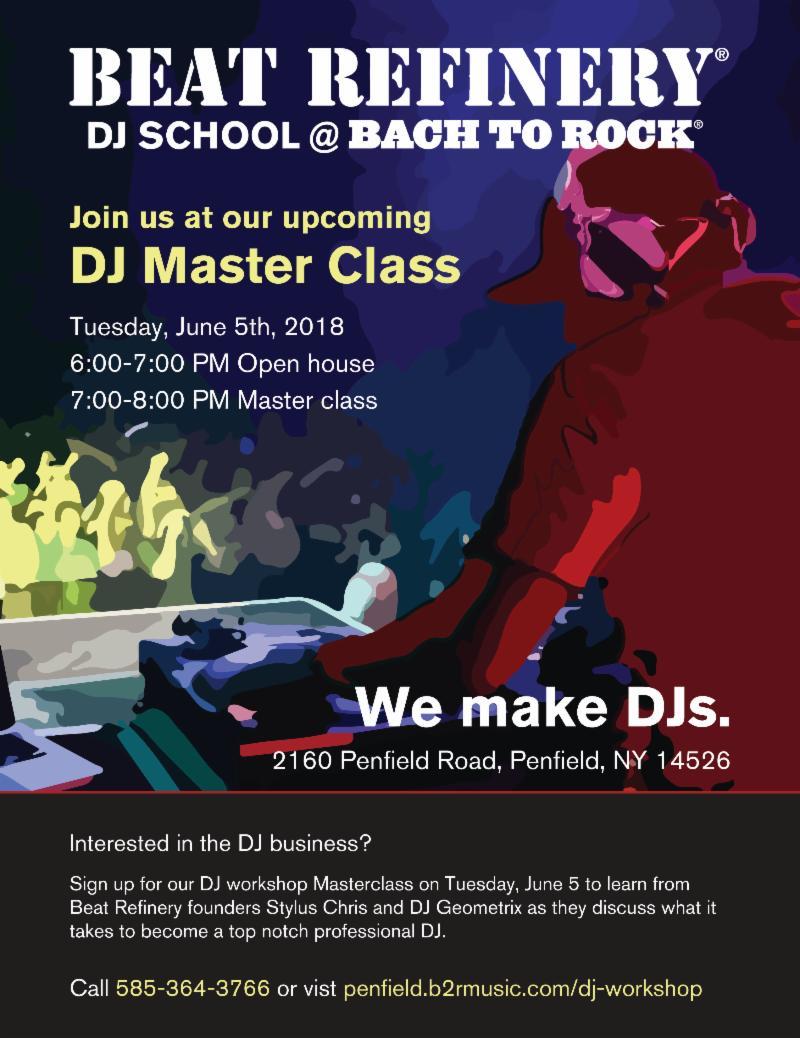 Bach to Rock DJ School