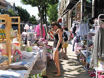 CNSCVB Sidewalk sales on the north shore