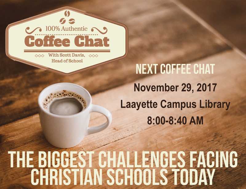 November 29th Coffee Chat