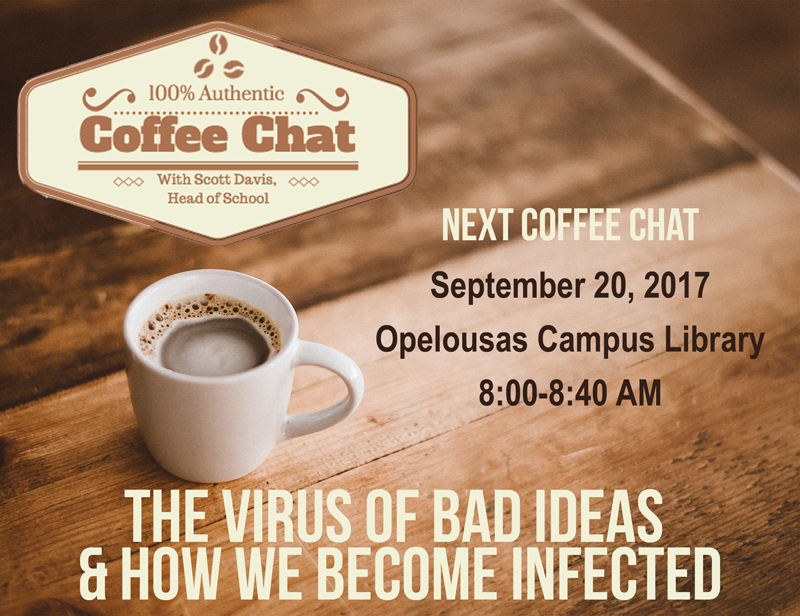Coffee Chat 9-20-17