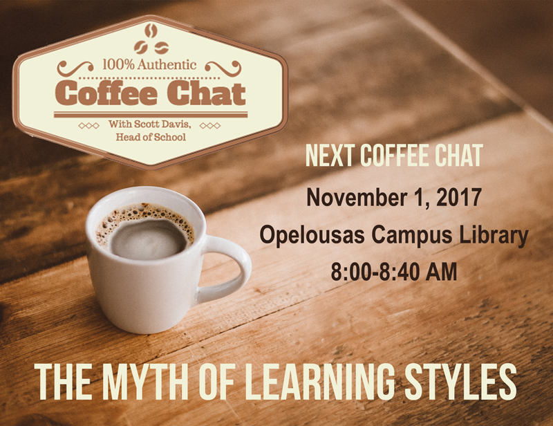 Coffee Chat Learning Styles