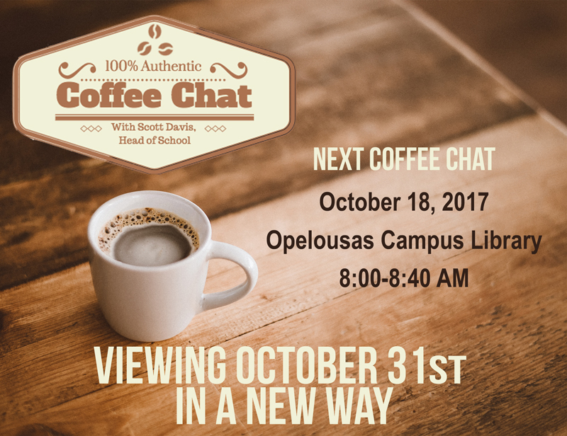 Coffee Chat 10-18-17