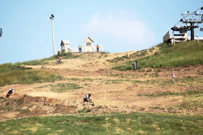 Mt Brighton downhill track