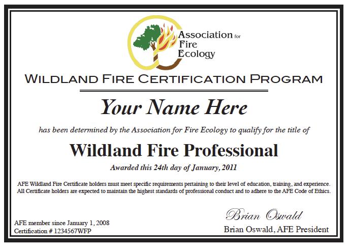 AFE\'s 2017 Certification Programs: Deadline September 1