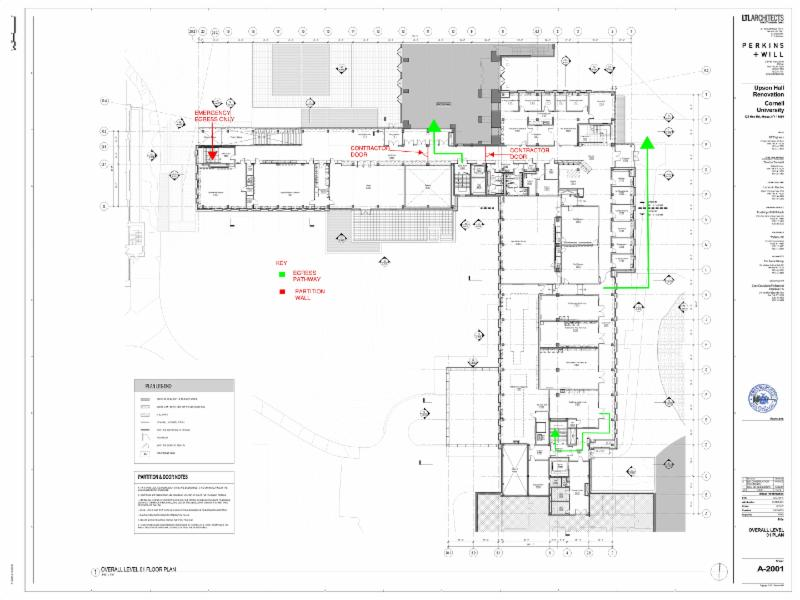 Upson Hall Renovation Update Feb. 3, 2017
