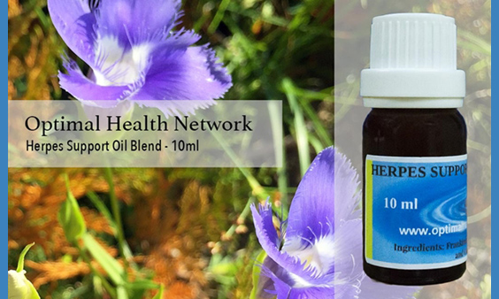 herpes support with essential oils