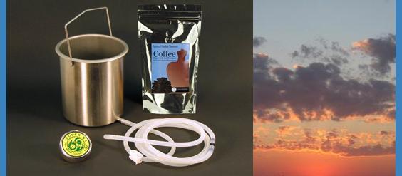 coffee enema kit _ colon cleanse
